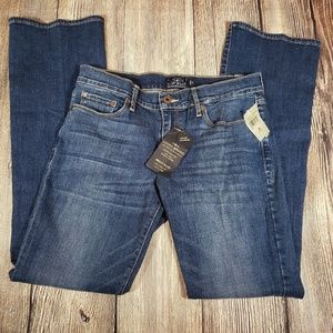 Lucky Brand sweet boot super stretch jeans 8/29